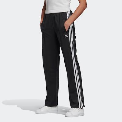 Kelnės 'Firebird' iš ADIDAS ORIGINALS , spalva - juoda / balta, Modelio vaizdas