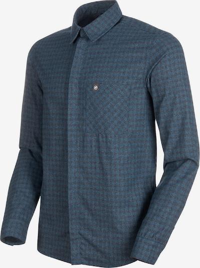 MAMMUT Hemd in blau, Produktansicht