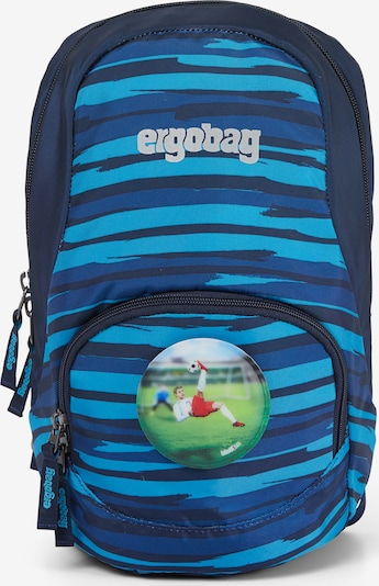 ergobag Tasche 'Ease' in blau / hellblau / dunkelblau, Produktansicht