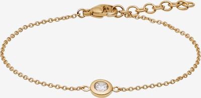 CHRIST Armband in gold / transparent, Produktansicht
