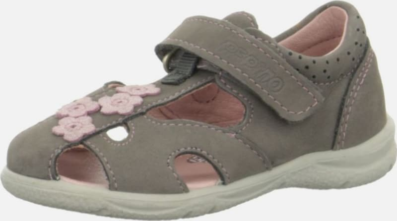 RICOSTA Halbschuhe in taupe / rosa: Frontalansicht