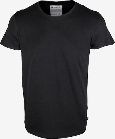 Resteröds T-Shirt in schwarz, Produktansicht