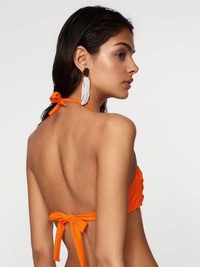 EDITED Hauts de bikini 'Hira' en orange: Vue de dos