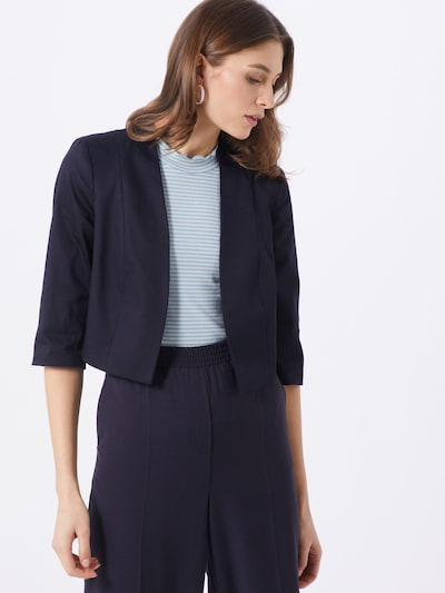COMMA Bolero in navy, Modelansicht