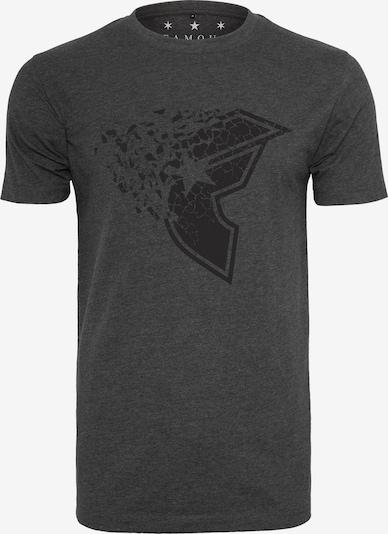 Mister Tee T-Shirt 'Blasted Tee' in dunkelgrau: Frontalansicht