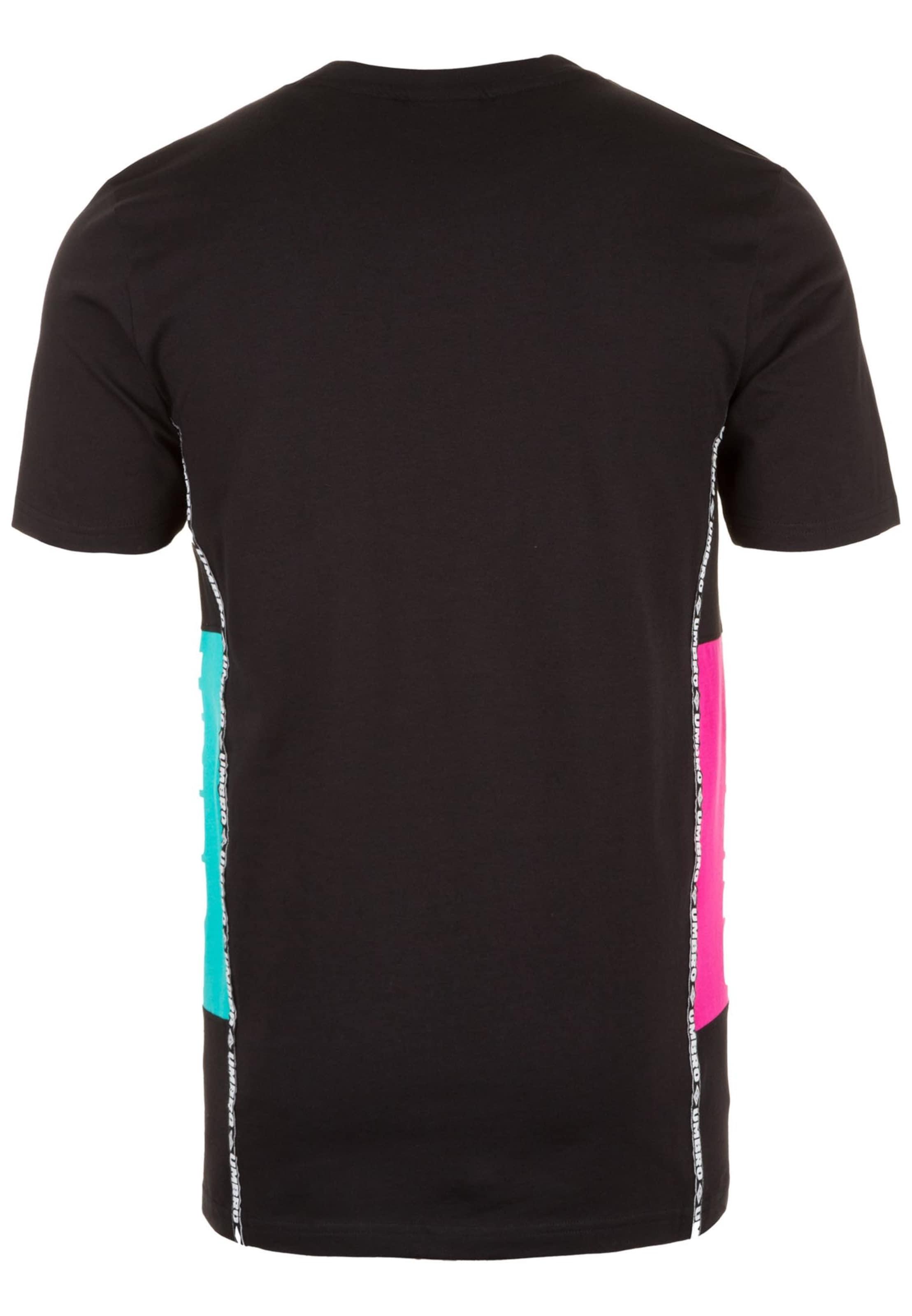 Schwarz TürkisNeonpink Umbro In shirt T 9DHE2I
