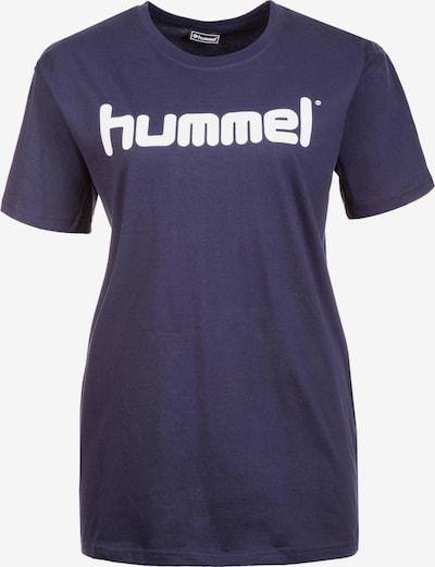 Hummel Trainingsshirt in blau / weiß, Produktansicht