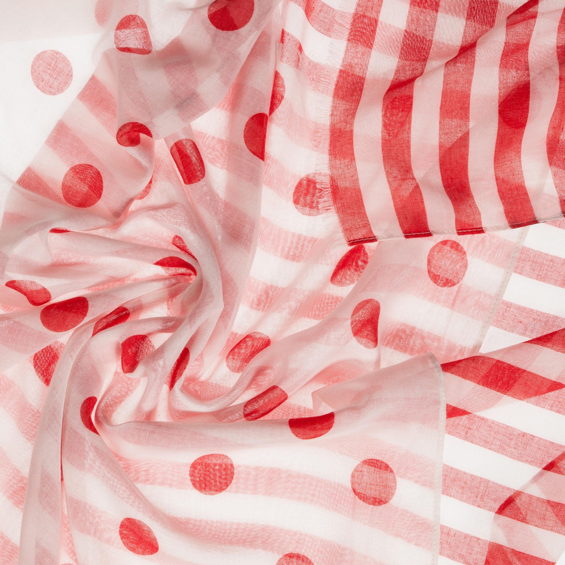 CODELLO Schal mit Streifen und Punkten Auslass Zum Verkauf Günstig Kaufen Verkauf Verkauf Besten Verkaufs Verkauf Mit Mastercard apuTqMo