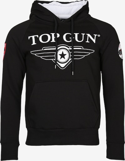 TOP GUN Sweatshirt 'Defender' in schwarz, Produktansicht