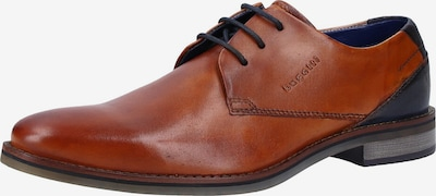 bugatti Schuhe in navy / cognac, Produktansicht