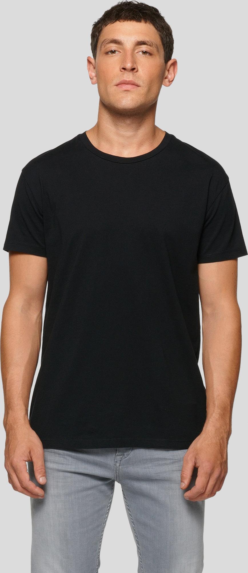 Samsoe samsoe t shirt 39 kronos 39 in schwarz about you for Design couchtisch kronos schwarz