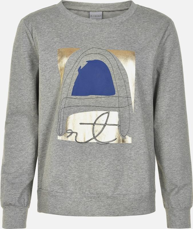 in 'Abeline Sweatshirt FRONT IN blau günstig und Bequem grau