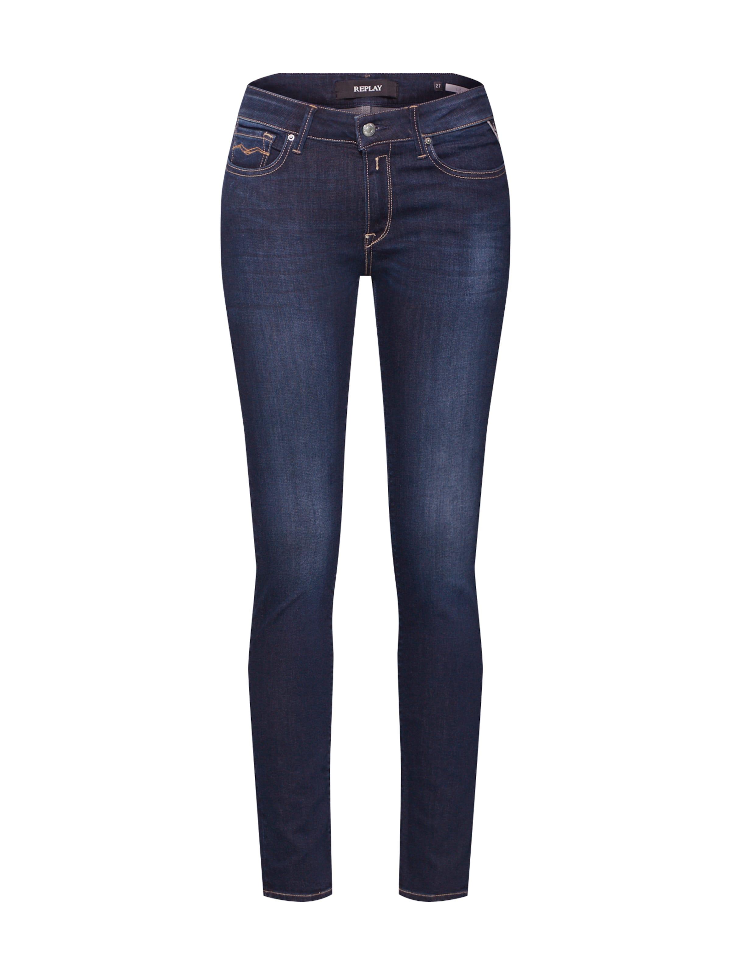 In Denim Replay High 'luz Jeans Blue Waist Pants' lc1FJK