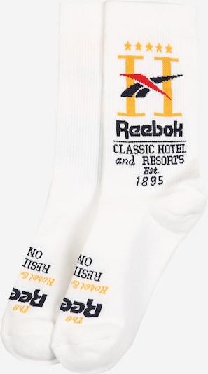 Reebok Classic Socken 'CL Hotel Sock WHITE' in weiß, Produktansicht