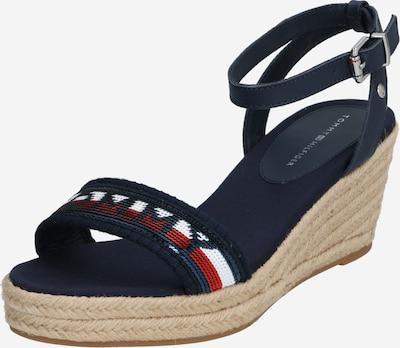 TOMMY HILFIGER Páskové sandály 'ELBA' - béžová / námořnická modř, Produkt