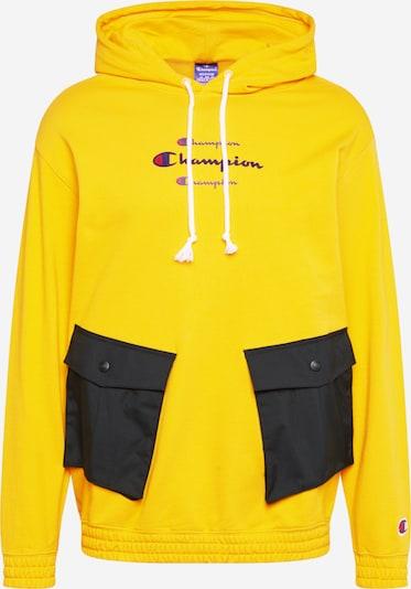 Champion Authentic Athletic Apparel Mikina - žltá / čierna, Produkt
