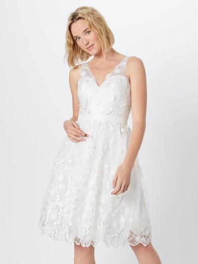 Unique Hochzeitskleid in creme, Modelansicht