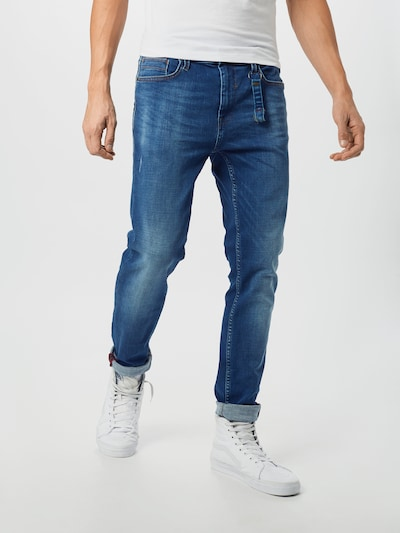 BLEND Jeans in blue denim, Modelansicht