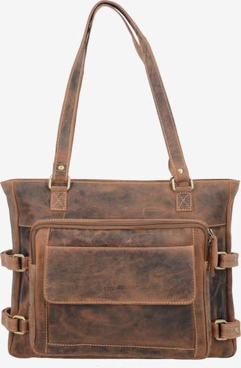 GREENBURRY Schoudertas in de kleur Bruin, Productweergave