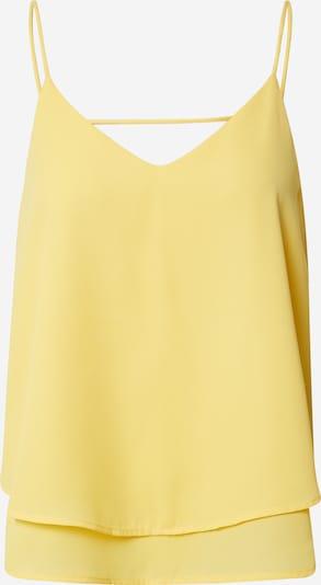 PIECES Top 'BODIL' | rumena barva, Prikaz izdelka