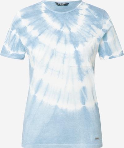 ZABAIONE Shirt 'Kelly' in blau / offwhite, Produktansicht