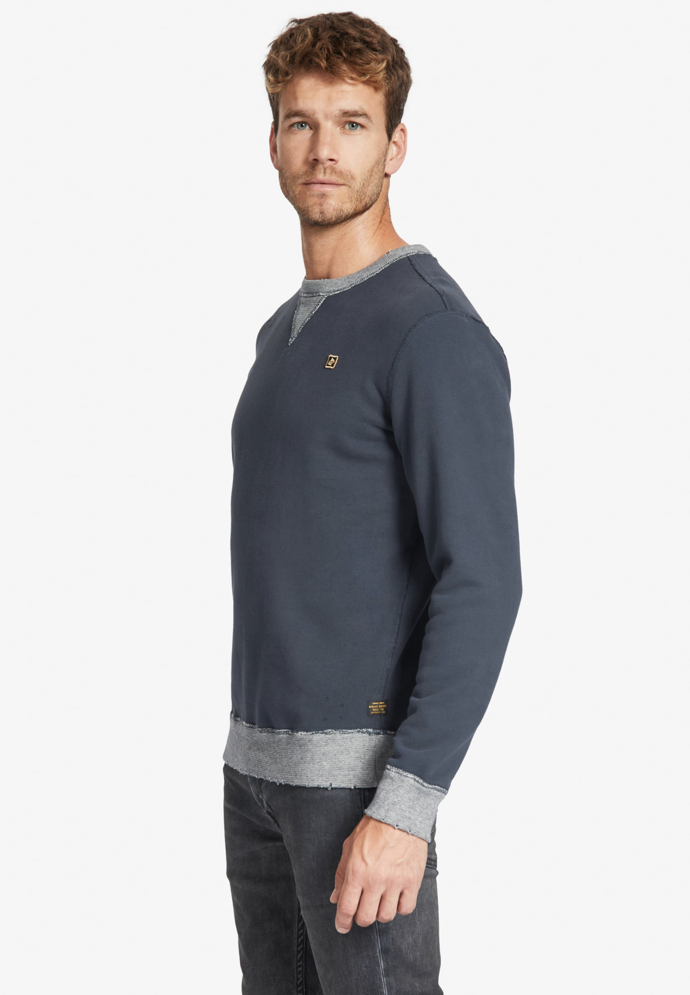 'pendor Number' Sweatshirt NachtblauGrau Khujo In 1TFcJ3lK