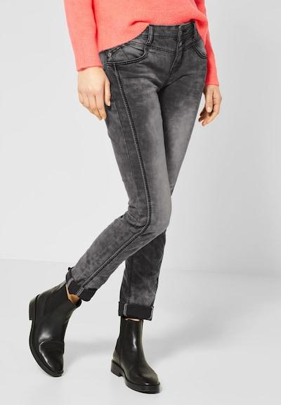 STREET ONE Jeans 'Jane' in schwarz, Modelansicht