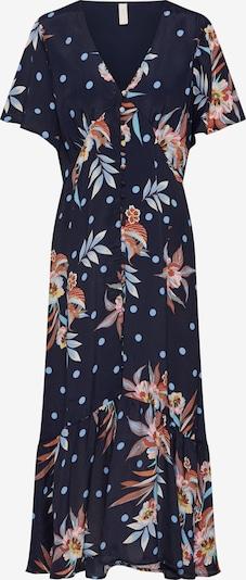 Y.A.S Kleid 'Solira' in nachtblau / mischfarben: Frontalansicht