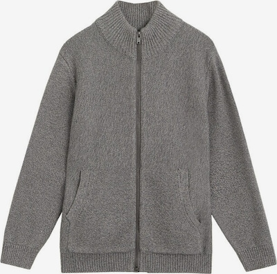 MANGO KIDS Strickjacke 'david' in graumeliert, Produktansicht