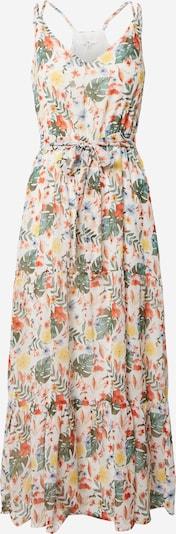 TOM TAILOR Robe d'été en mélange de couleurs / blanc, Vue avec produit