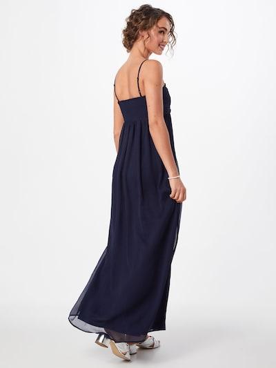 ABOUT YOU Společenské šaty 'Giselle' - modrá: Pohled zezadu