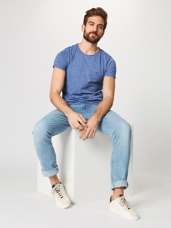 Tom shirt T Violet Tailor Denim En Bleu K1TlJcF
