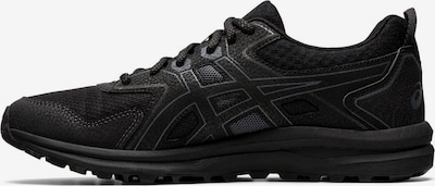 ASICS Walkingschuh 'Trail Scout' in graphit / schwarz: Frontalansicht