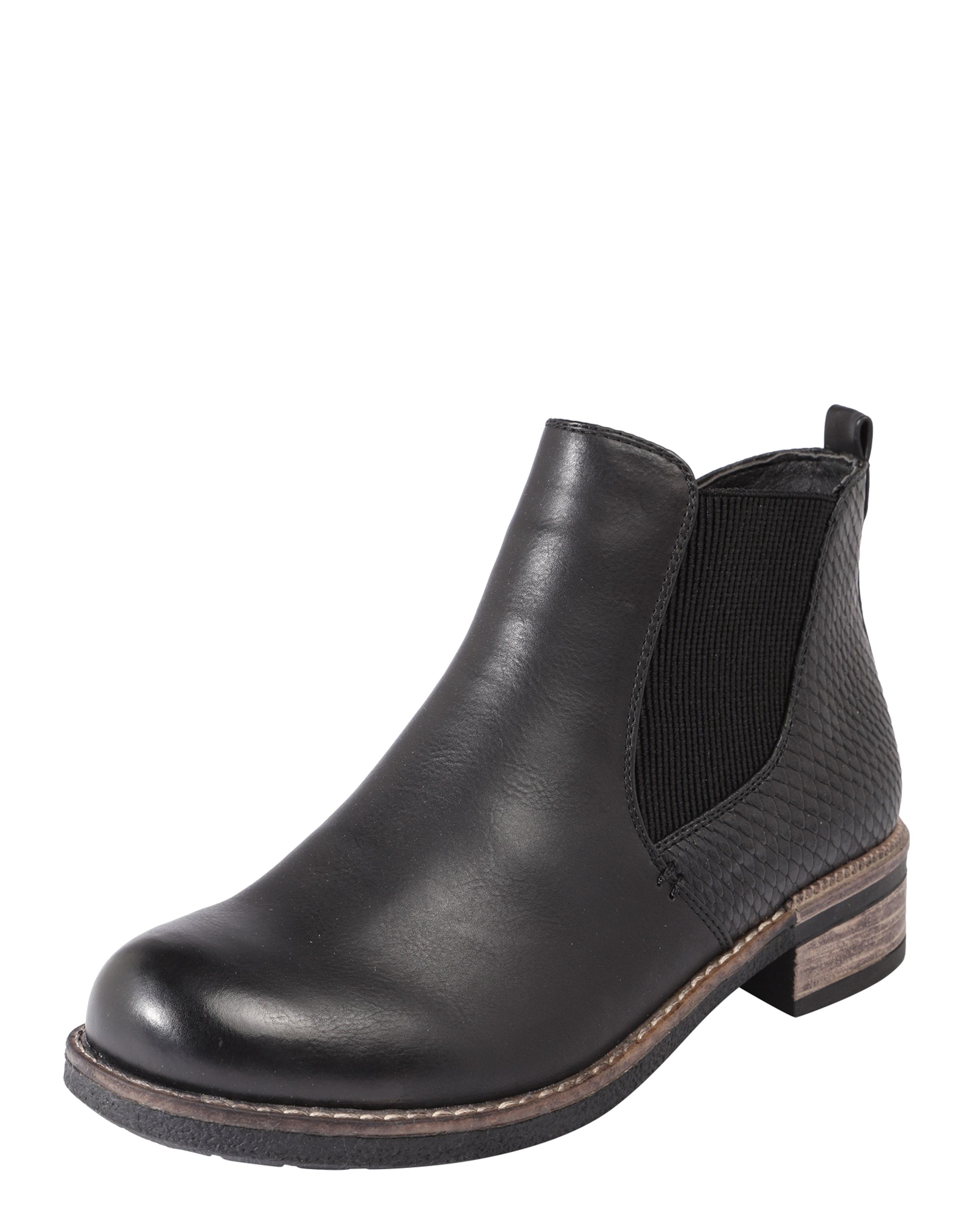 Boots In Chelsea Rieker Boots Rieker Chelsea In Zwart 5Ajq3RL4