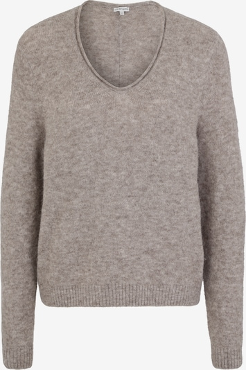 BETTER RICH Pullover 'V-NECK CLEAN' in taupe, Produktansicht