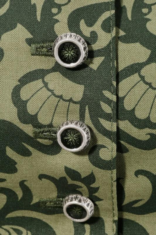 LOVE NATURE Trachtenkleid mit Metallknöpfen