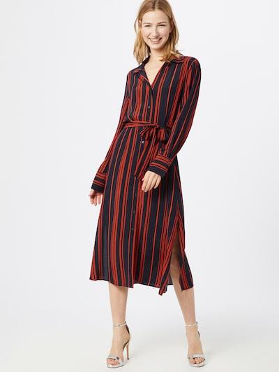 SOAKED IN LUXURY Kleid 'SLHalima Dress' in blau / rot, Modelansicht