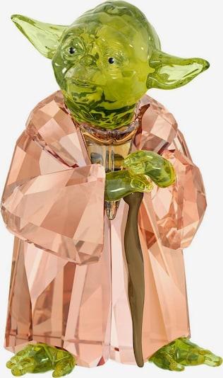 Swarovski Dekofigur 'Star Wars - Master Yoda' in apfel / apricot, Produktansicht