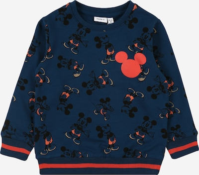 NAME IT Sweatshirt 'MICKEY METTIS' in dunkelblau / rot, Produktansicht