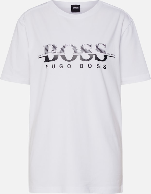 BOSS ATHLEISURE Shirt in weiß, Produktansicht