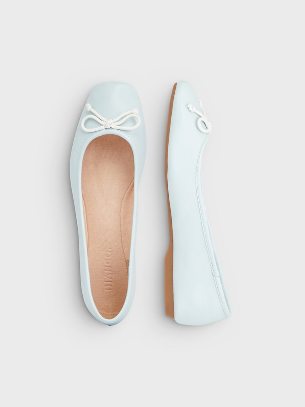 Bianco Erstklassige Ballerinas