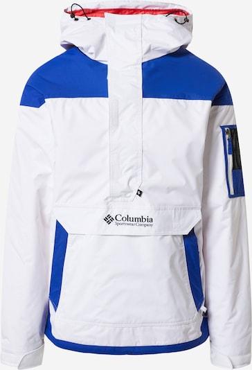 COLUMBIA Outdoorová bunda 'Challenger' - modrá / biela, Produkt