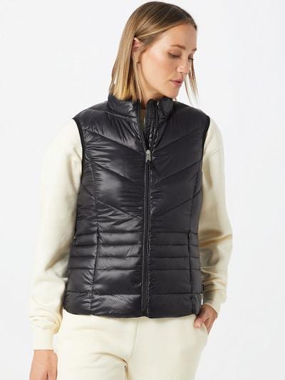 VERO MODA Bodywarmer 'SORAYASIV' in de kleur Zwart, Modelweergave