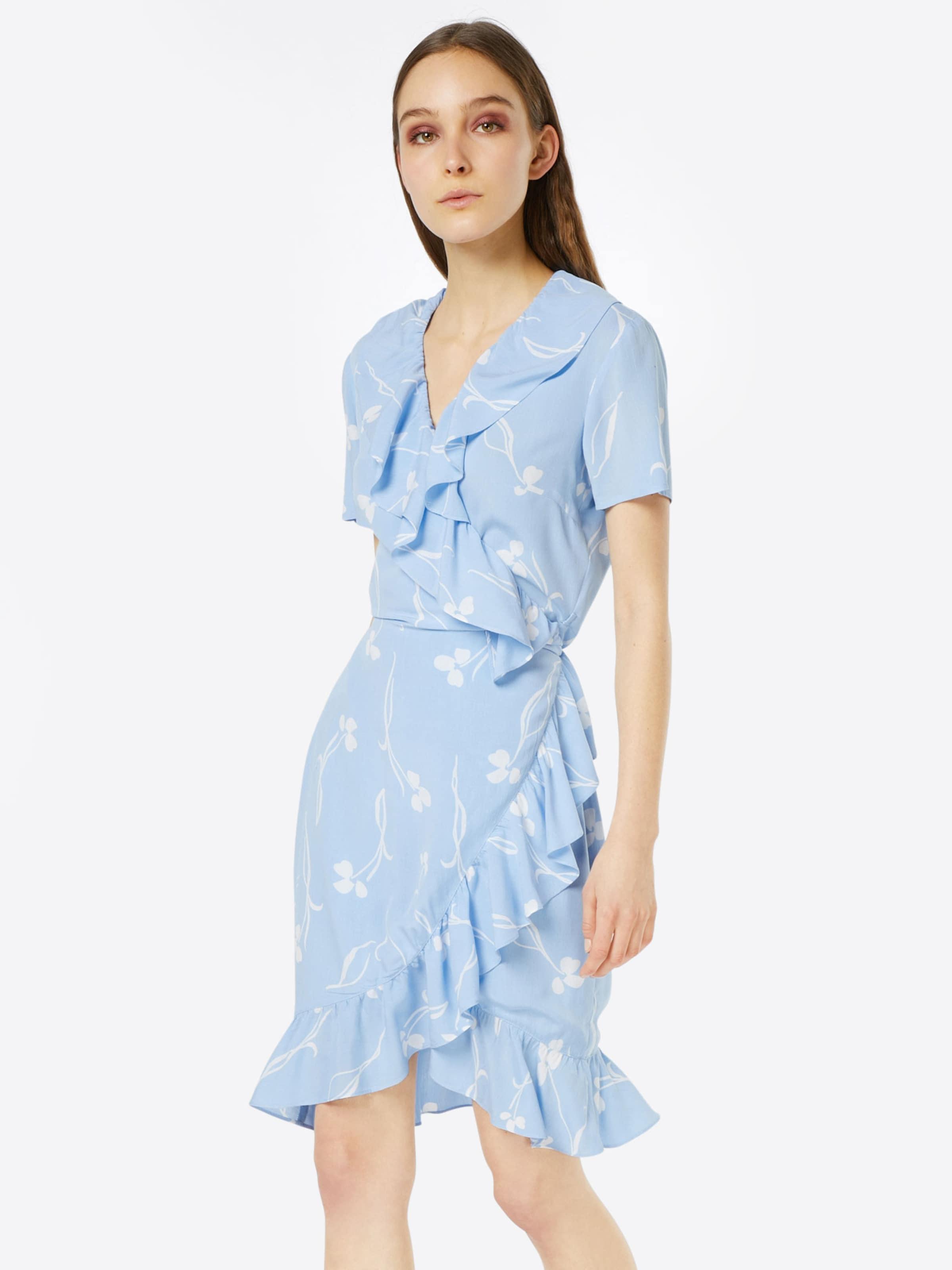 En D'été 'clover' Robe Y a ClairBlanc Bleu s srhdxtQC