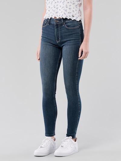 HOLLISTER Jeans in blue denim: Frontalansicht
