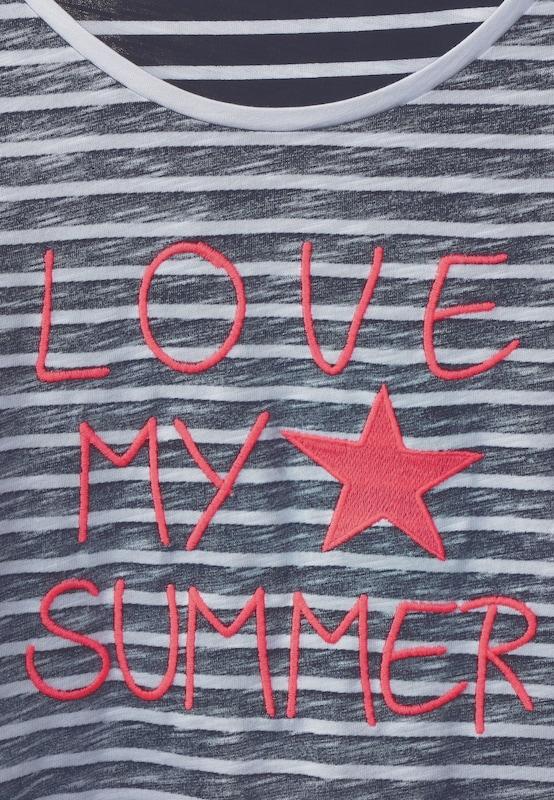 T Street En Bleu One FoncéSaumon shirt MVGSUpqz