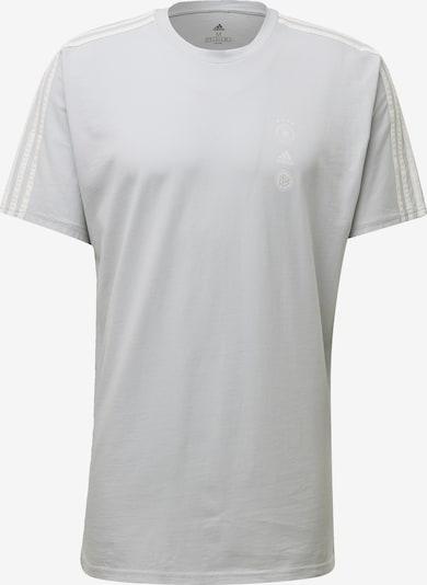 ADIDAS PERFORMANCE Tricot in de kleur Lichtgrijs / Wit: Vooraanzicht