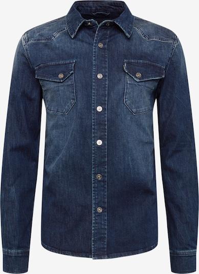 Camicia 'Fred 6866' tigha di colore blu denim, Visualizzazione prodotti