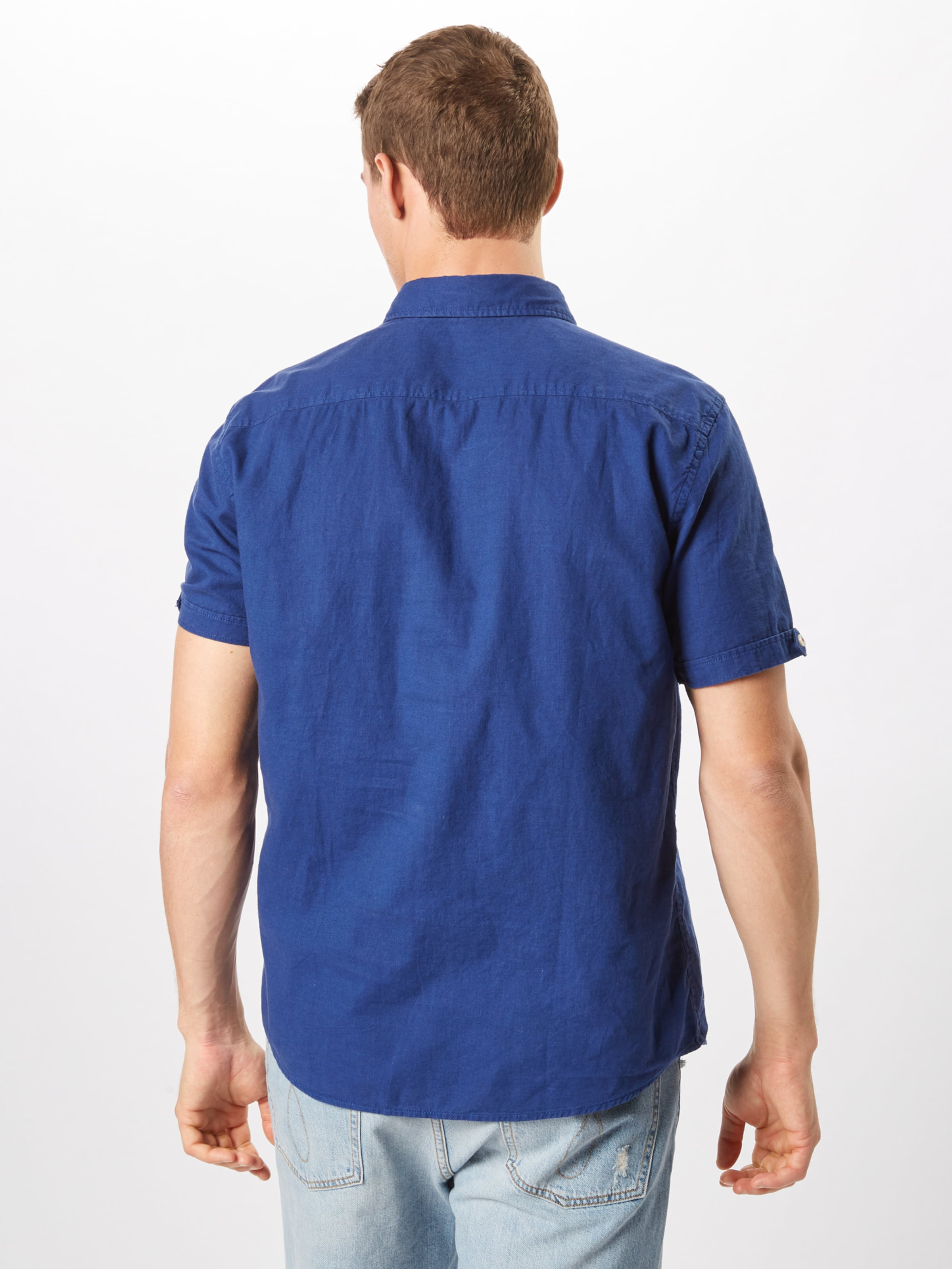 oliver Red Label In Blau S Hemd IYWHD29E