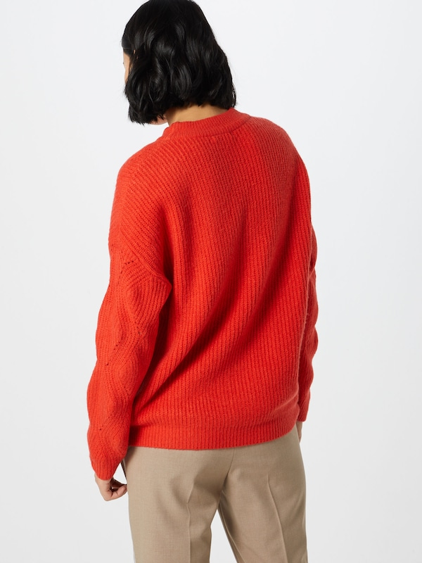 OPUS OPUS OPUS Pullover 'Pebby' in rot  Markenkleidung für Männer und Frauen 4e636a